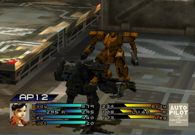 Front Mission 3 Gameplay