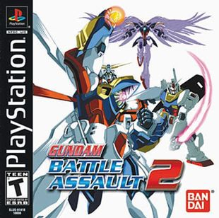 Gundam Battle Assault 2 Boxart