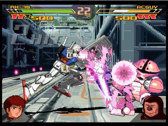 Gundam Battle Assault 2 Screenshot