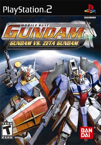 Gundam Vs. Zeta Gundam Boxart