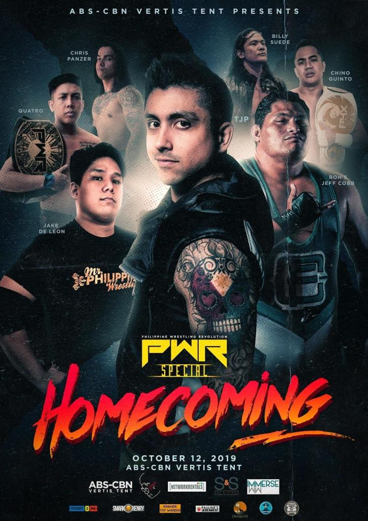 PWR Homecoming Poster