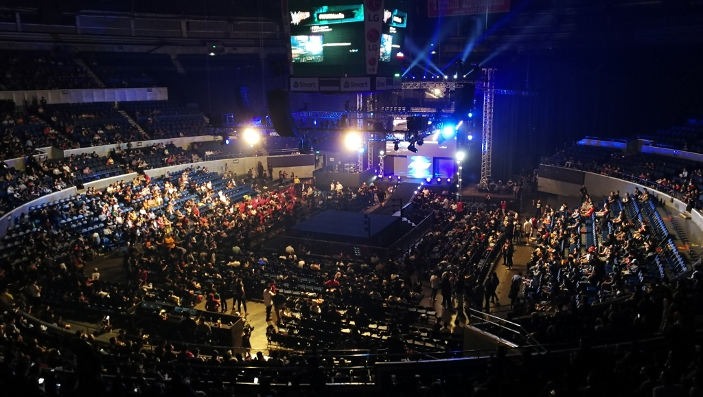 Araneta Coliseum before Smackdown